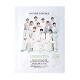 NATURE REPUBLIC Given By Nature 3D Green Tea Mask Sheet 25ml