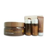 INNISFREE Jeju Volcanic Pore Clay Mask Original 200ml +GIFT (SPECIAL GIFT PRODUCT)