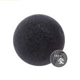 MISSHA Natural Soft Jelly Cleanseing Puff [Charcoal]